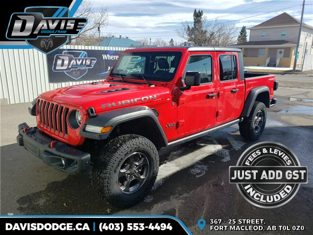 2020 Jeep Gladiator Rubicon (Stk: 16907) in Fort Macleod - Image 1 of 23