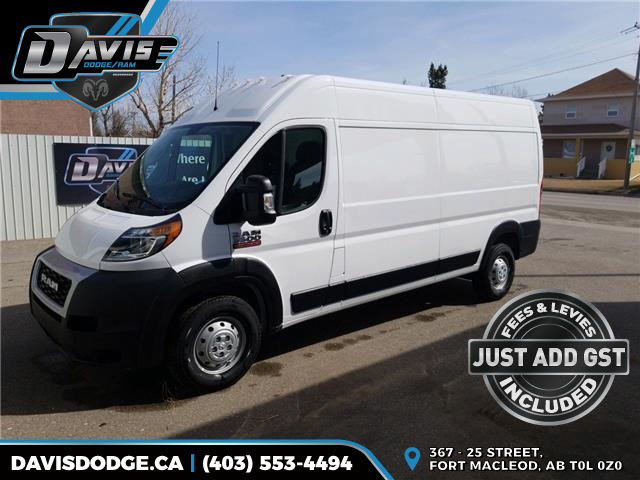 2020 RAM ProMaster 3500 High Roof (Stk: 16903) in Fort Macleod - Image 1 of 16