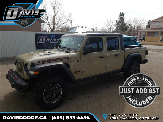 2020 Jeep Gladiator Rubicon (Stk: 16997) in Fort Macleod - Image 1 of 14
