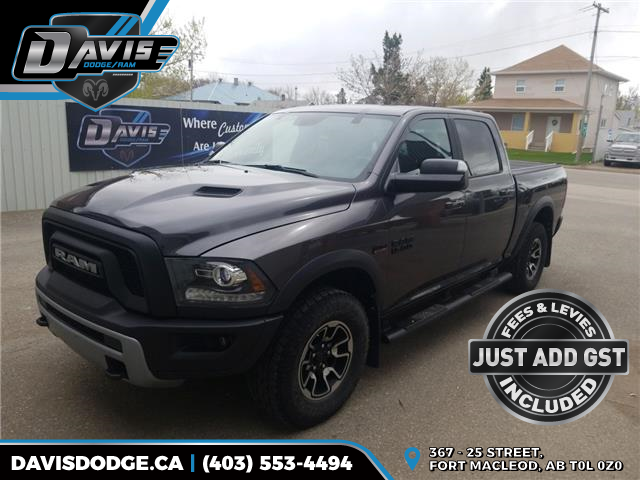 2017 RAM 1500 Rebel (Stk: 10085) in Fort Macleod - Image 1 of 15