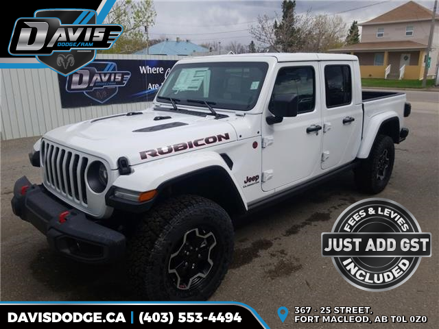 2020 Jeep Gladiator Rubicon (Stk: 17054) in Fort Macleod - Image 1 of 15