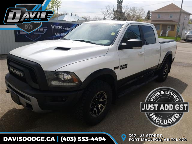 2017 RAM 1500 Rebel (Stk: 16946) in Fort Macleod - Image 1 of 16