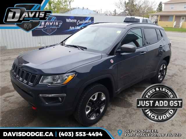 2018 Jeep Compass Trailhawk (Stk: 15790) in Fort Macleod - Image 1 of 18
