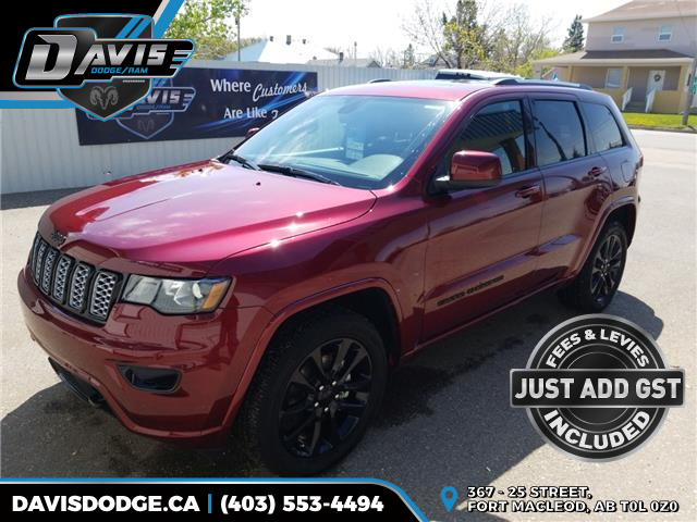 2018 Jeep Grand Cherokee Laredo (Stk: 13314) in Fort Macleod - Image 1 of 19