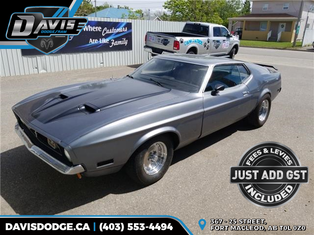 1971 Ford 1971 FORD MUSTANG MACH 1  (Stk: 17013) in Fort Macleod - Image 1 of 9