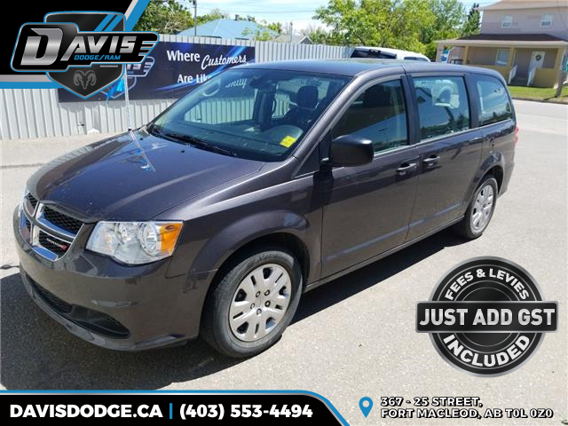 2019 Dodge Grand Caravan CVP/SXT (Stk: 15299) in Fort Macleod - Image 1 of 15