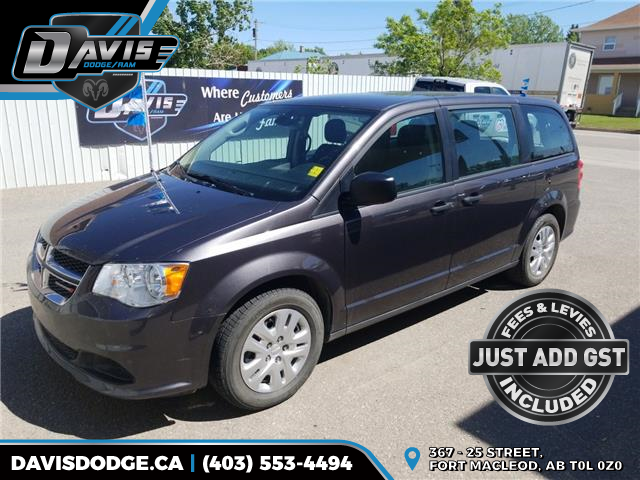 2019 Dodge Grand Caravan CVP/SXT (Stk: 15298) in Fort Macleod - Image 1 of 16