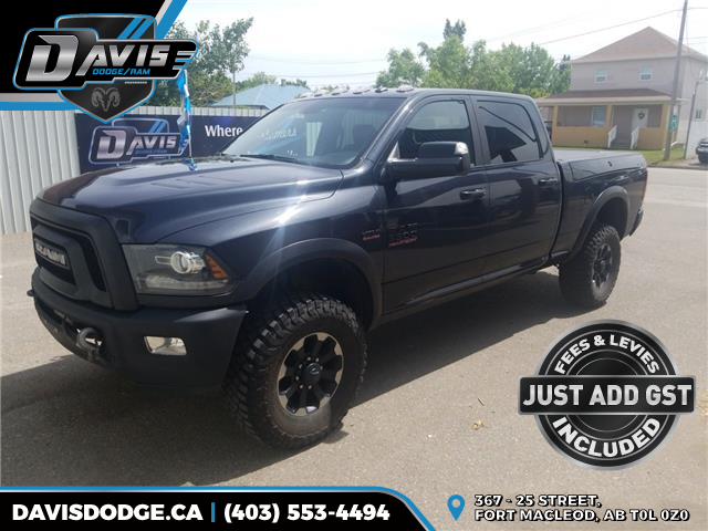 2017 RAM 2500 Power Wagon (Stk: 11002) in Fort Macleod - Image 1 of 16