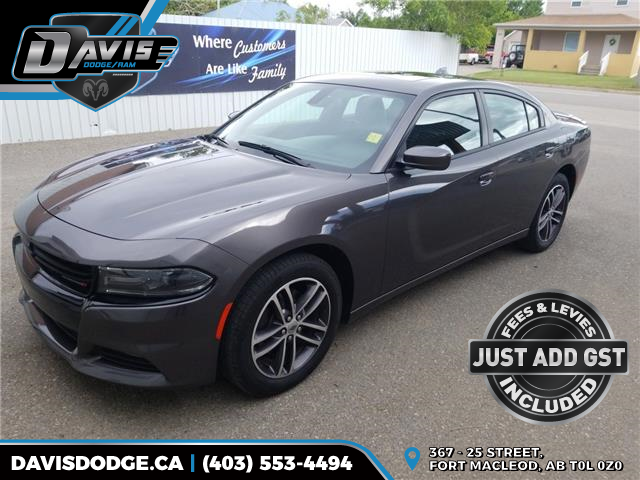 2019 Dodge Charger SXT (Stk: 17272) in Fort Macleod - Image 1 of 17
