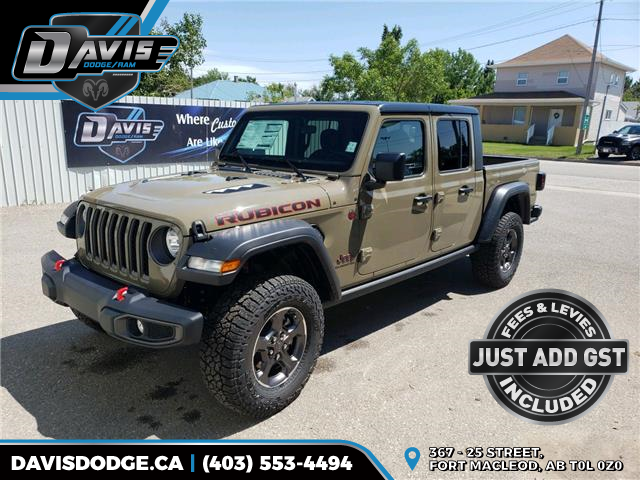 2020 Jeep Gladiator Rubicon (Stk: 17381) in Fort Macleod - Image 1 of 17
