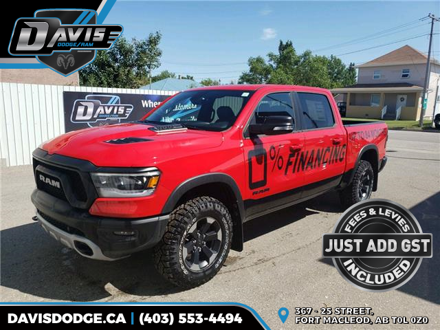 2020 RAM 1500 Rebel (Stk: 16479) in Fort Macleod - Image 1 of 23