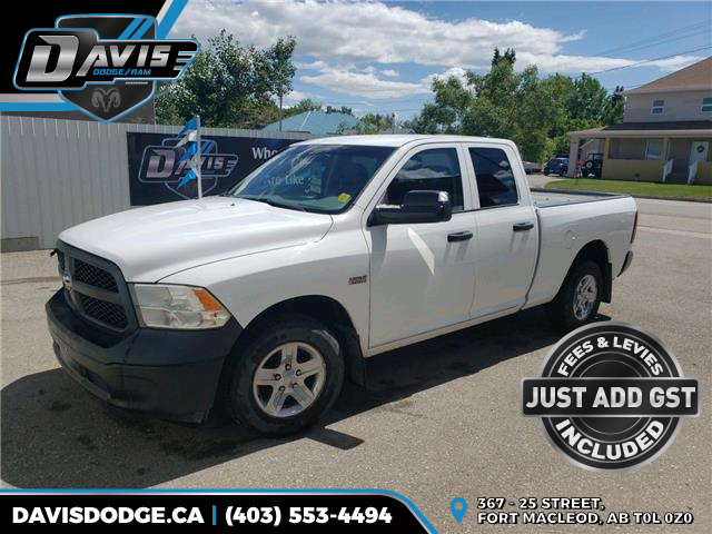 2014 RAM 1500 ST (Stk: 17419) in Fort Macleod - Image 1 of 13