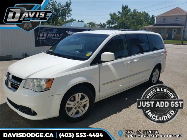 2017 Dodge Grand Caravan Crew (Stk: 17445) in Fort Macleod - Image 1 of 19