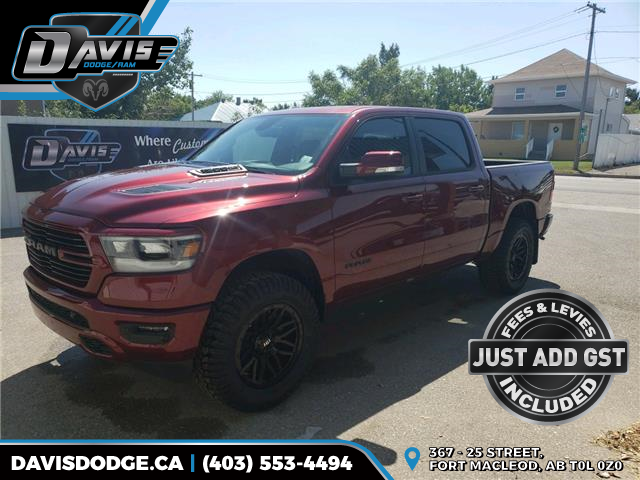 2020 RAM 1500 Sport (Stk: 16208) in Fort Macleod - Image 1 of 21