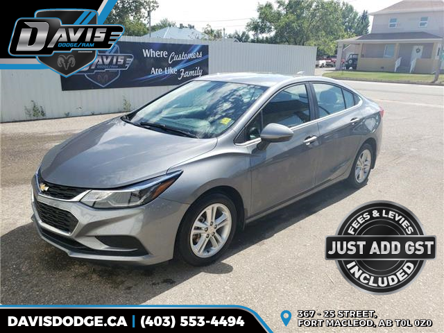 2018 Chevrolet Cruze LT Auto (Stk: 17558) in Fort Macleod - Image 1 of 18