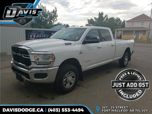 2019 RAM 2500 Big Horn 3C6UR5JL3KG562168 17691 in Fort Macleod