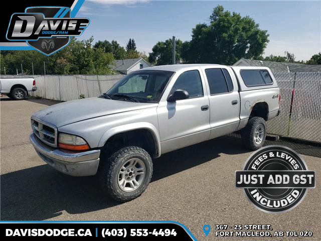 2004 Dodge Dakota SLT (Stk: 17713) in Fort Macleod - Image 1 of 7