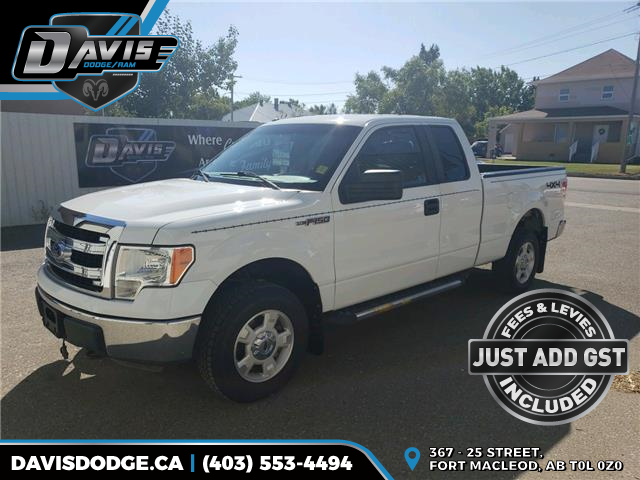 2013 Ford F-150 XLT 1FTFX1EF0DFD28983 17441 in Fort Macleod
