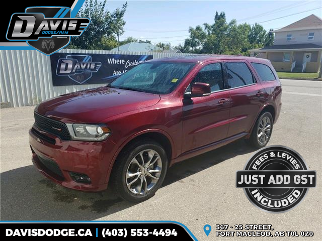 2020 Dodge Durango GT (Stk: 17741) in Fort Macleod - Image 1 of 21
