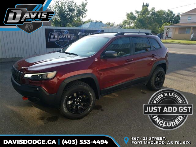 2020 Jeep Cherokee Trailhawk (Stk: 17776) in Fort Macleod - Image 1 of 22