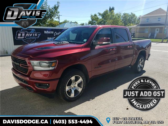 2020 RAM 1500 Sport (Stk: 17760) in Fort Macleod - Image 1 of 21