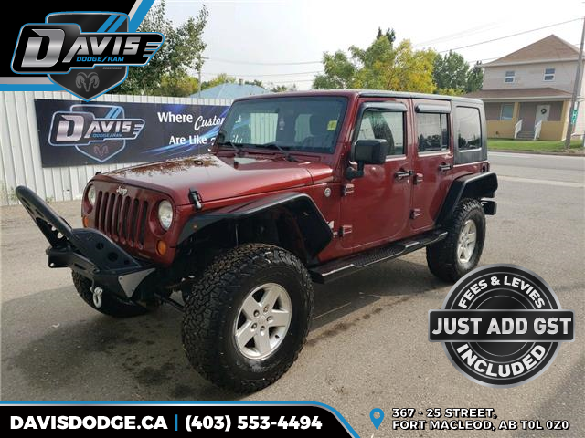 2007 Jeep Wrangler Unlimited X (Stk: 17696) in Fort Macleod - Image 1 of 15