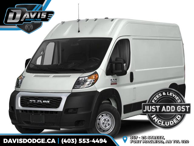 2020 RAM ProMaster 2500 High Roof (Stk: 17852) in Fort Macleod - Image 1 of 8
