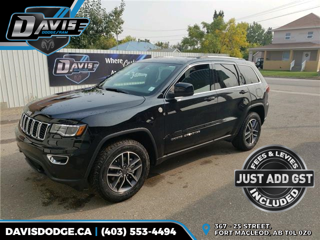 2020 Jeep Grand Cherokee Laredo (Stk: 17822) in Fort Macleod - Image 1 of 21