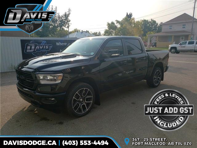 2020 RAM 1500 Sport (Stk: 17857) in Fort Macleod - Image 1 of 21