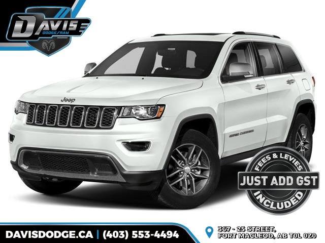 2020 Jeep Grand Cherokee Limited (Stk: 17886) in Fort Macleod - Image 1 of 9