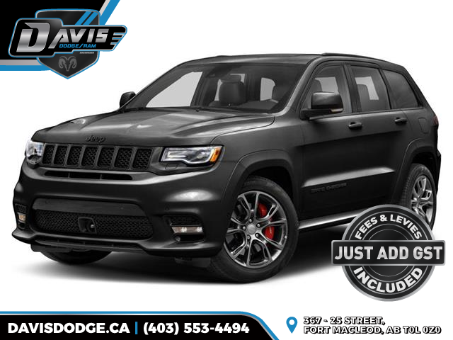 2020 Jeep Grand Cherokee SRT (Stk: 17891) in Fort Macleod - Image 1 of 9