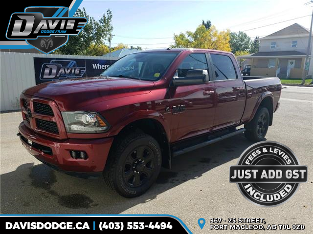 2017 RAM 3500 Laramie (Stk: 10304) in Fort Macleod - Image 1 of 21