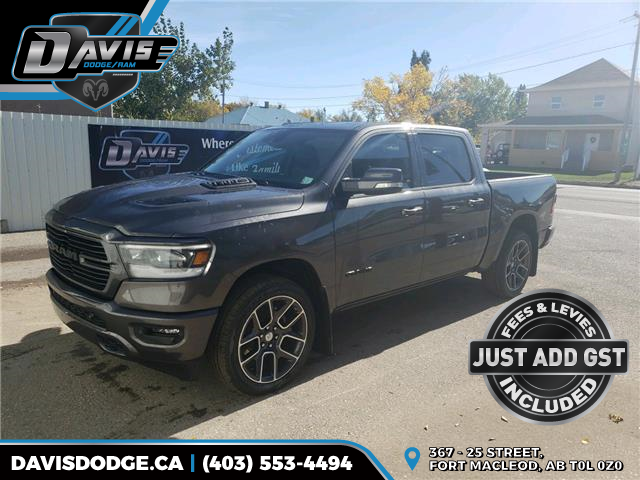 2021 RAM 1500 Sport 1C6SRFVT2MN500293 17943 in Fort Macleod