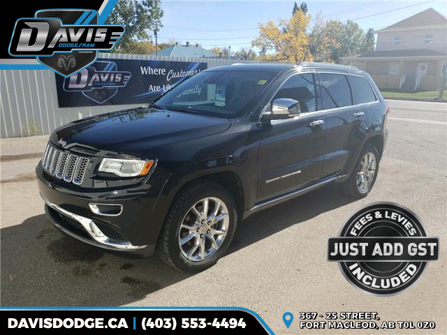 2016 Jeep Grand Cherokee Summit (Stk: 17861) in Fort Macleod - Image 1 of 23