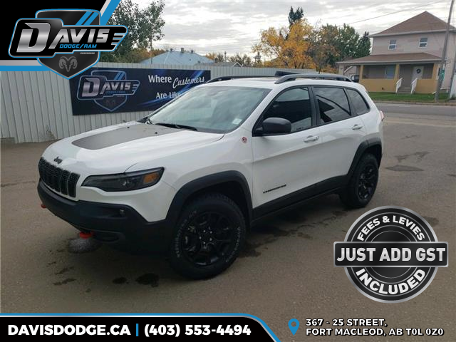 2020 Jeep Cherokee Trailhawk (Stk: 17938) in Fort Macleod - Image 1 of 22