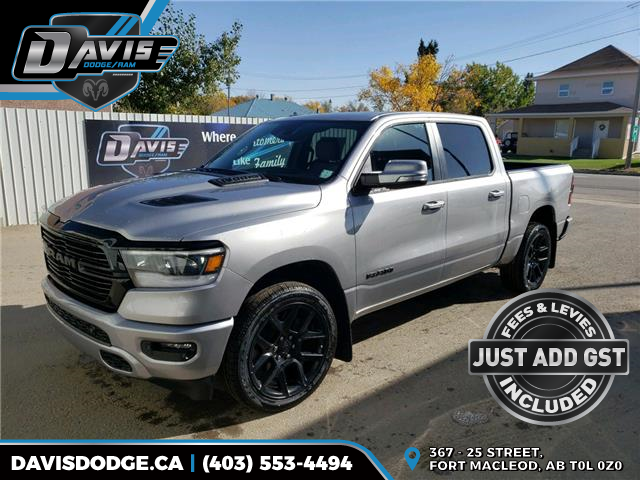 2021 RAM 1500 Sport (Stk: 17948) in Fort Macleod - Image 1 of 18
