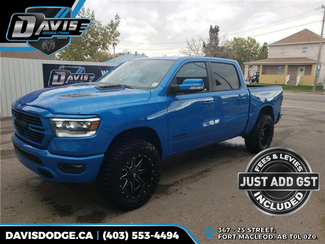 2021 RAM 1500 Sport (Stk: 17945) in Fort Macleod - Image 1 of 20