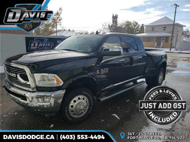 2018 RAM 3500 Longhorn 3C63RRNL1JG311502 17897 in Fort Macleod