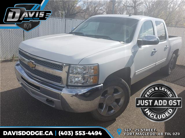 2012 Chevrolet Silverado 1500 LS (Stk: 17805) in Fort Macleod - Image 1 of 4