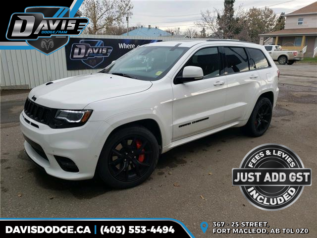 2018 Jeep Grand Cherokee SRT (Stk: 13685) in Fort Macleod - Image 1 of 25