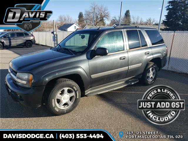 2005 Chevrolet TrailBlazer LS (Stk: 18091) in Fort Macleod - Image 1 of 3
