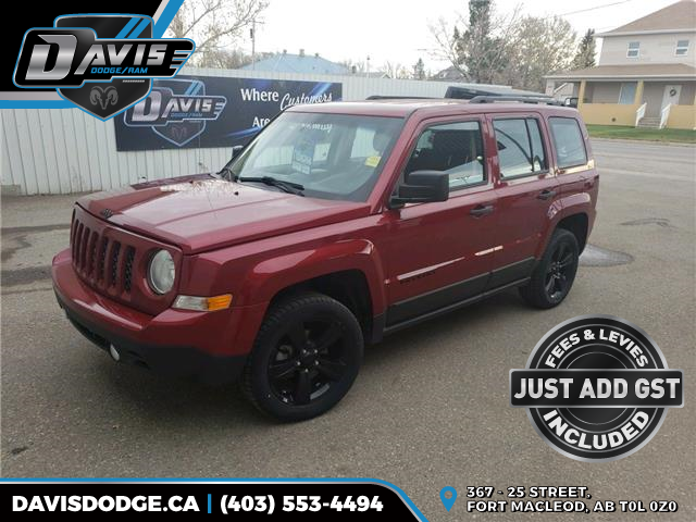 2015 Jeep Patriot Sport/North (Stk: 17975) in Fort Macleod - Image 1 of 14