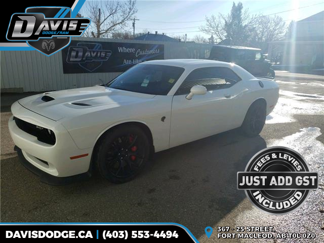 2016 Dodge Challenger SRT Hellcat (Stk: 18129) in Fort Macleod - Image 1 of 23