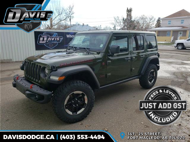 2021 Jeep Wrangler Unlimited Rubicon (Stk: 18199) in Fort Macleod - Image 1 of 22