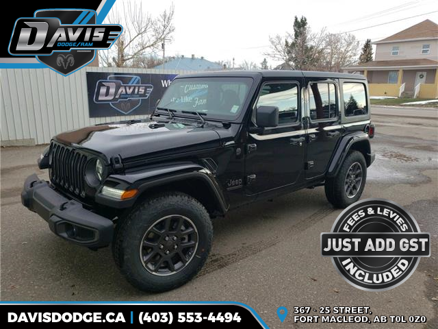 2021 Jeep Wrangler Unlimited Sport (Stk: 18198) in Fort Macleod - Image 1 of 21