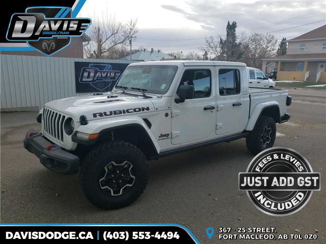 2021 Jeep Gladiator Rubicon (Stk: 18211) in Fort Macleod - Image 1 of 18