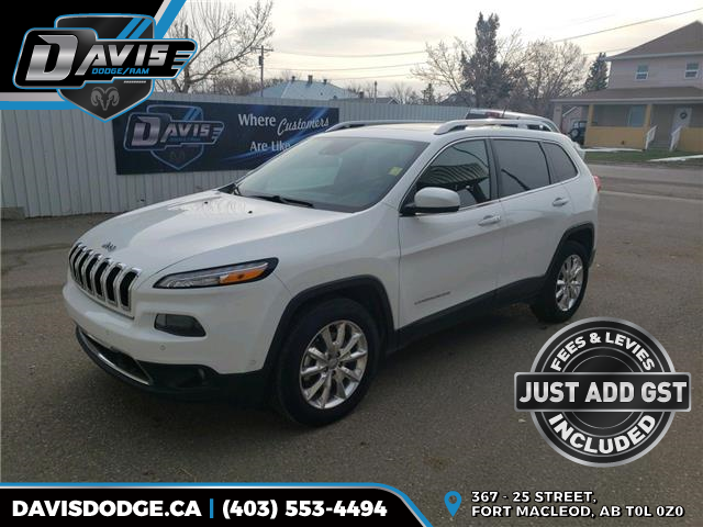 2015 Jeep Cherokee Limited 1C4PJMDS5FW685312 10421 in Fort Macleod