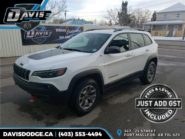 2021 Jeep Cherokee Trailhawk (Stk: 18263) in Fort Macleod - Image 1 of 23