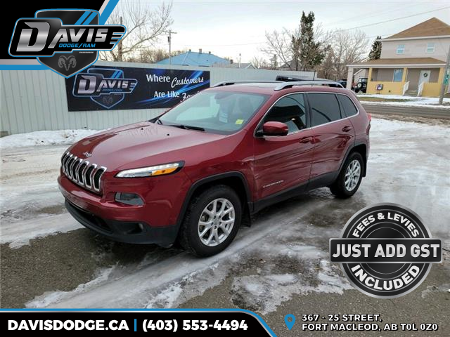 2016 Jeep Cherokee North 1C4PJMCS9GW139275 13937 in Fort Macleod