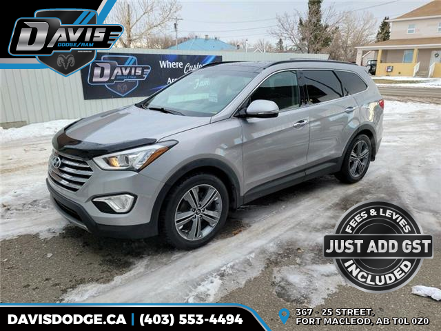 2016 Hyundai Santa Fe XL Limited Adventure Edition KM8SNDHFXGU146592 18260 in Fort Macleod